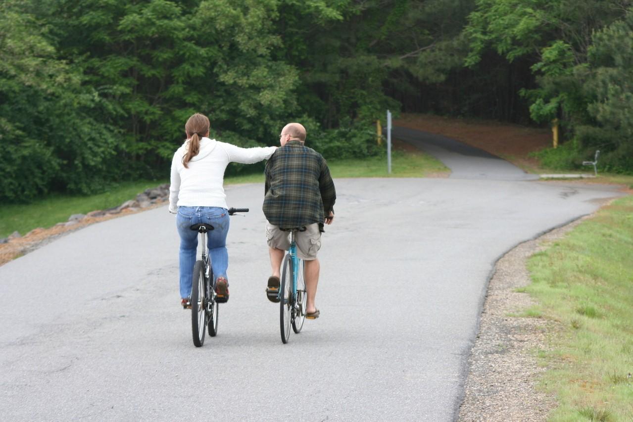 Na miejskim, rowerowym szlaku
